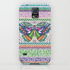 Tribal Butterfly Slim Case Galaxy S5