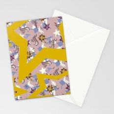 Star Scarf  Stationery Cards