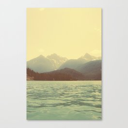 You are a ghost to me - Diablo Lake Canvas Print