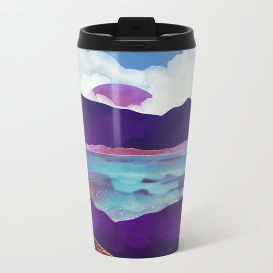 Dark Sea Metal Travel Mug