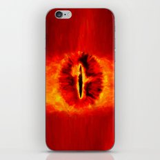 Eye of Sauron - Painting Style iPhone & iPod Skin
