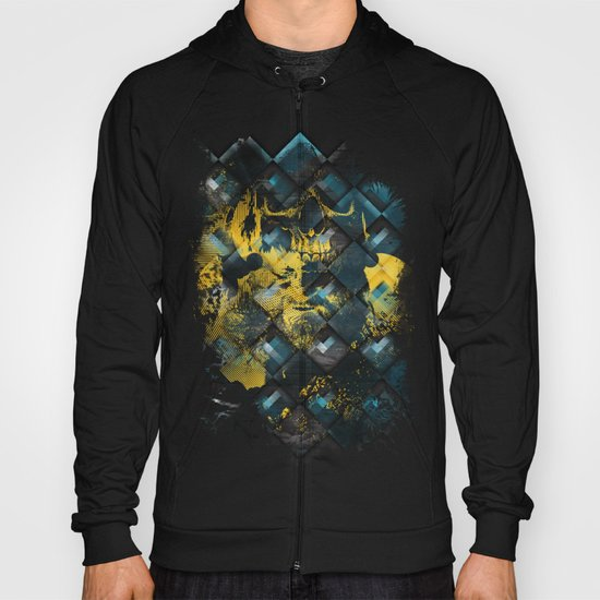 Abstract Thinking Remix Hoody