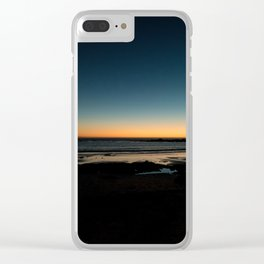 Table Mountain in Cape Town, South Africa Clear iPhone Case