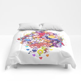 UNDERTALE MUCH CHARACTER Comforters