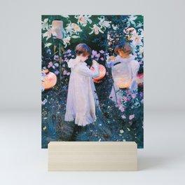John Singer Sargent - Carnation, Lily, Lily, Rose Mini Art Print