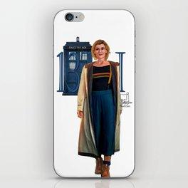 13th Doctor iPhone Skin