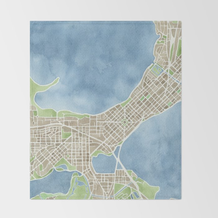 City Map Of Wisconsin on