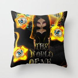 The World Of NK Throw Pillow