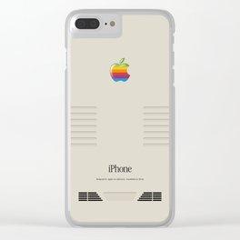 iPhone Macintosh retro design Clear iPhone Case