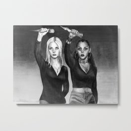Slay The Patriarchy Metal Print