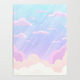 Pastel Heaven Poster