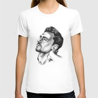 tom hiddleston T-shirts featuring Tom Hiddleston 2 by aleksandraylisk
