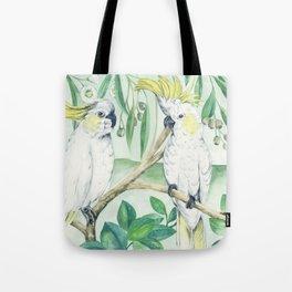 Saffron Cockatoo Tote Bag