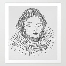 Winter Mornings Art Print