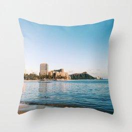 Waikiki Special Throw Pillow