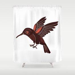 Humming Bird Shower Curtain