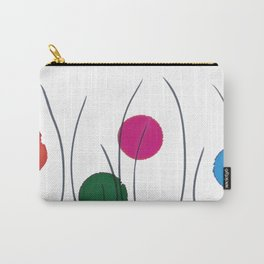 Red Green Pink Blue Drops Carry-All Pouch