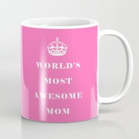mom Mugs featuring Mom by Beautiful Homes