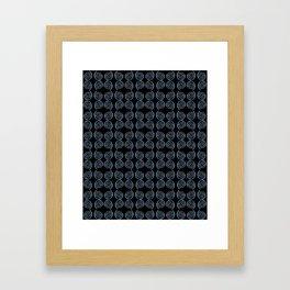spiral 1-circle,mystical,ring,twist,disc,circular,abstract Framed Art Print
