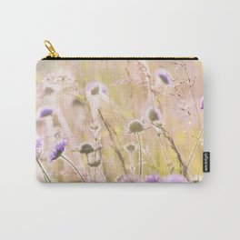 Purple Wildflowers 2 Carry-All Pouch