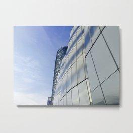IAC Building & 100 Eleventh Avenue Metal Print