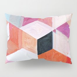 White Paint and Some Colors Pillow Sham