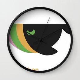 freie farben Wall Clock