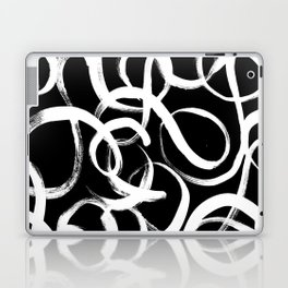 Swirls Laptop & iPad Skin