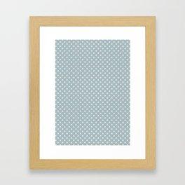 """tenugui""""shippou hamon"""" Framed Art Print"""