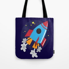 Space Cruiser Tote Bag
