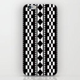 Geometric Pattern #177 (edie sedgwick) iPhone Skin