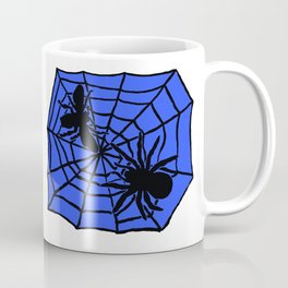 Confrontation. Blue Coffee Mug