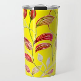 Red and Green Leaves! Yellow Sunshine! Travel Mug