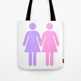 LESBIAN COUPLE Tote Bag