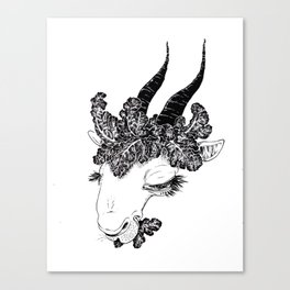 Hail the Kale Canvas Print