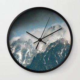 Tatra mountains Wall Clock