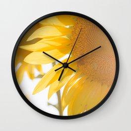 Sunflowers and Sunshine Wall Clock