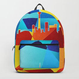 Toronto Canada Skyline Backpack