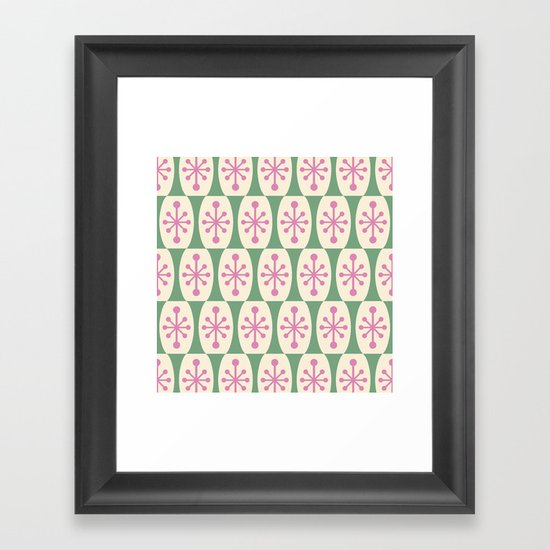 Mid Century Modern Atomic Fusion Pattern 102 by tonymagner