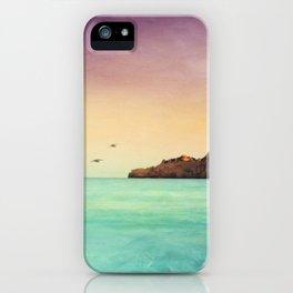 Glowing Mediterranean iPhone Case