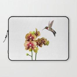 Hummingbird & Phalaenopsis Laptop Sleeve