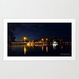 North Narrabeen Bridge Art Print