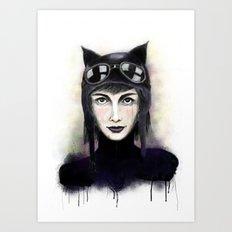 Catwoman #1 Art Print
