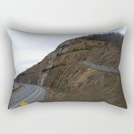 Mountain Wall Rectangular Pillow