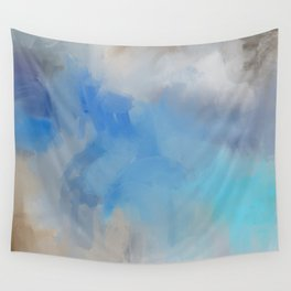 Blue Day 1 Wall Tapestry