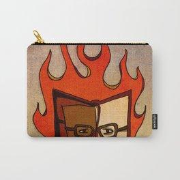 Prophets of Fiction - Ray Bradbury /Fahrenheit 451 Carry-All Pouch