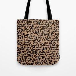 Digital Leopard Tote Bag