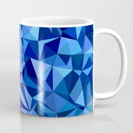 Blue tile mosaic Coffee Mug