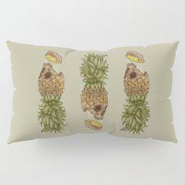 Pineapple Skull Pillow Sham