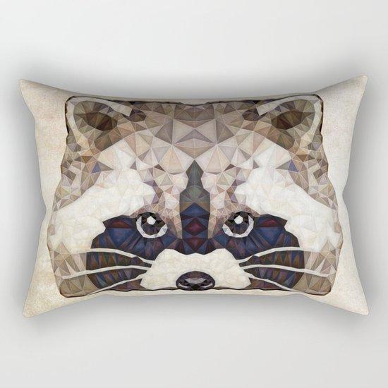 Racoon Rectangular Pillow